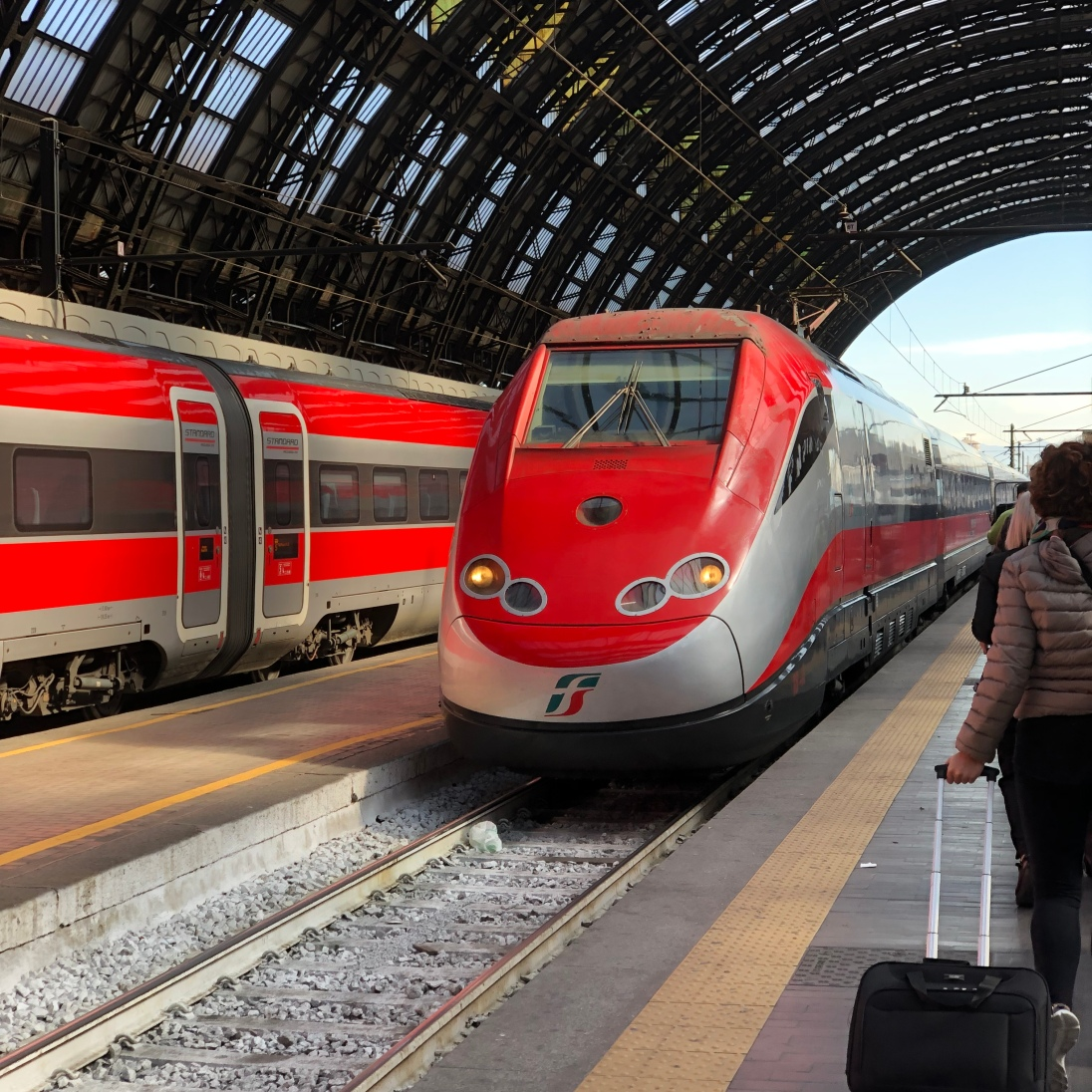 Freccia Rossa High Speed Train