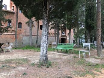 Abbzia di Monte Oliveto Maggiore.