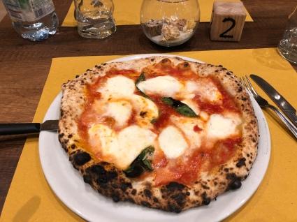 Pizza Margerita.